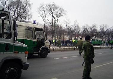 Nazi-Demo im Kiez